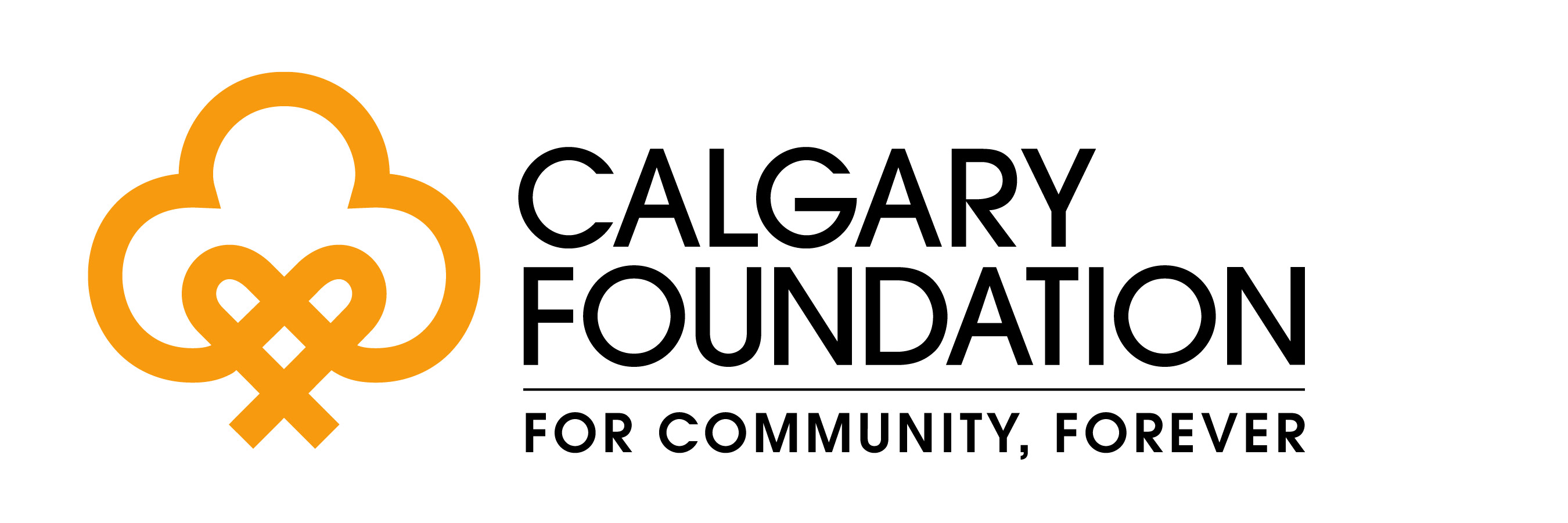 calgary foundation logo LARGER tagline CMYK